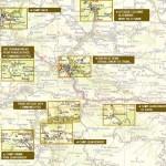 Carte des site du maquis