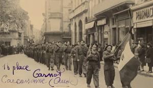 Défilé maquis à Carcassonne