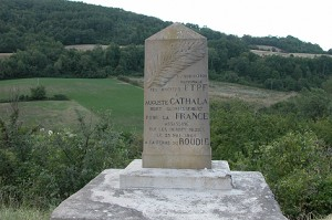 Monument pour Auguste Cathala