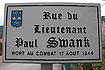 Rue Lieutenant Paul Swank
