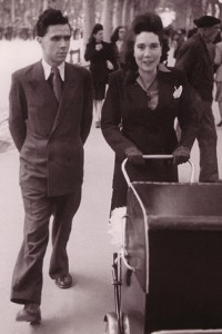 Pierre Lantenois en famille
